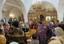 С праздником Изнесения Честных Древ Животворящего Креста и с началом Успенского поста!