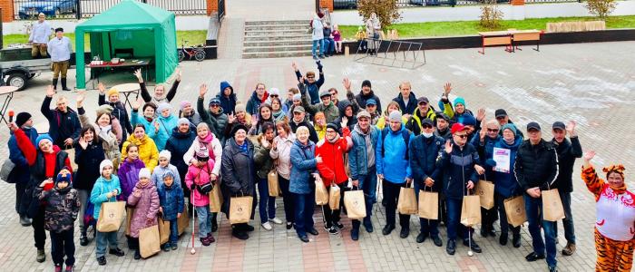 Спортивный праздник в Пучково