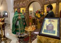 С Праздником преподобного Сергия Радонежского! С именинами поздравляем отца Сергия Кулагу! Многая и благая лета!