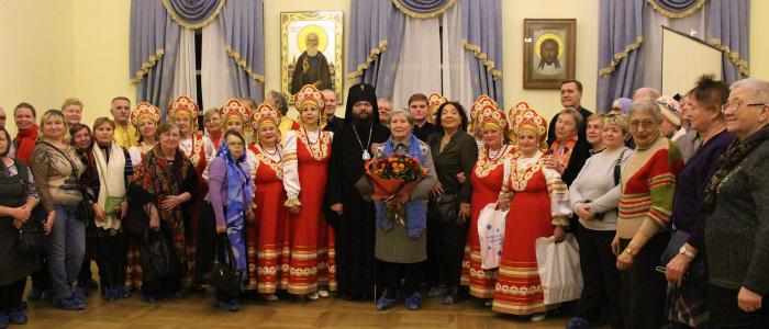 Встреча архиепископа Егорьевского Матфея с группой глухих и слабослышащих СВАО